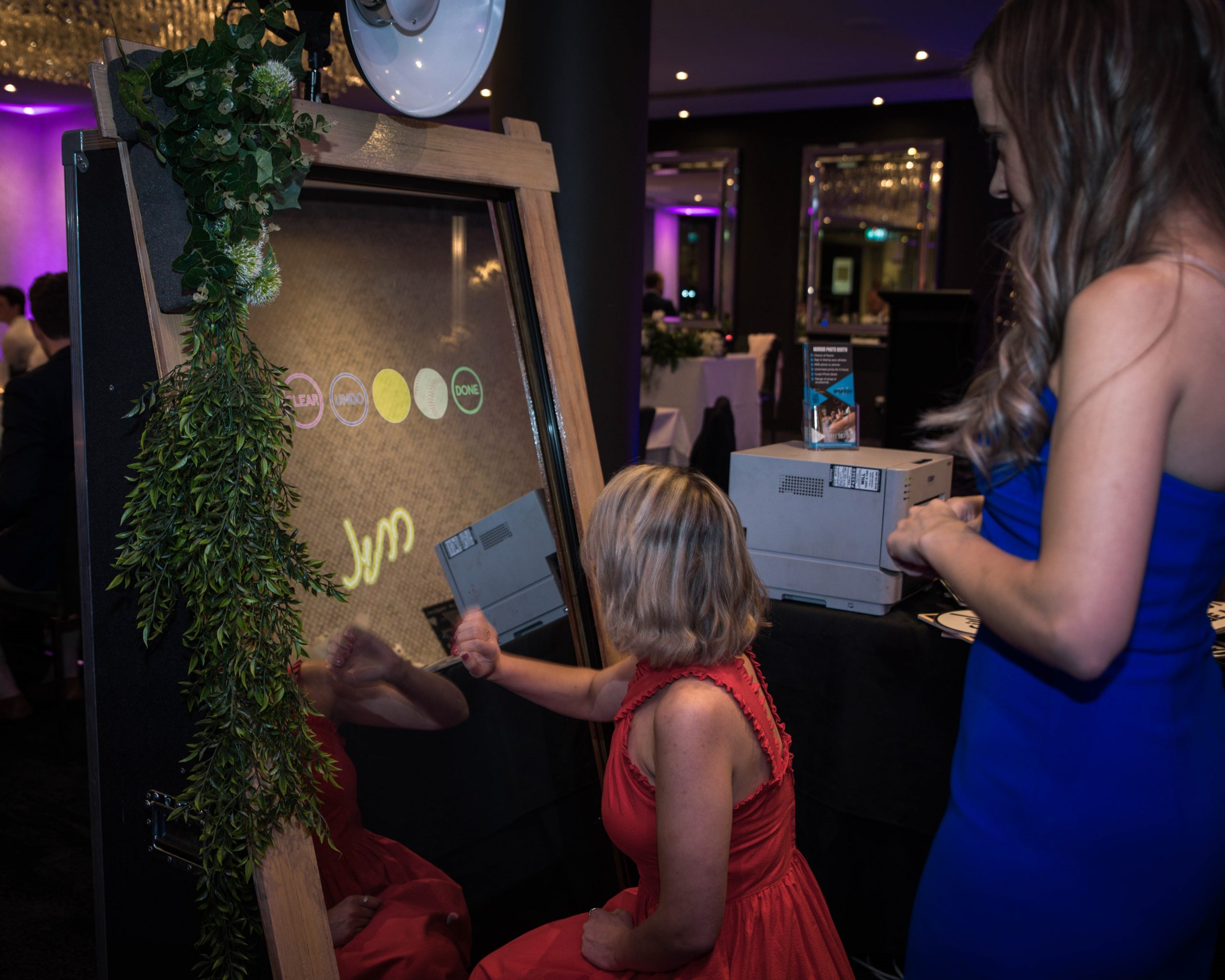 Rustic Mirror Booth Hire