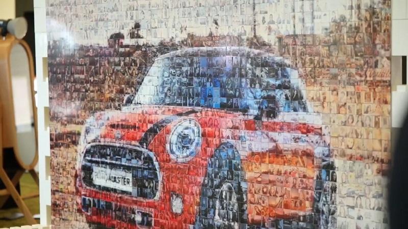 Photo Mosaic Wall Melbourne